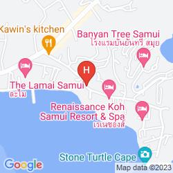 Karte LAMAI BAY VIEW RESORT