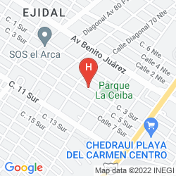 Karte APART HOTEL CASAEJIDO