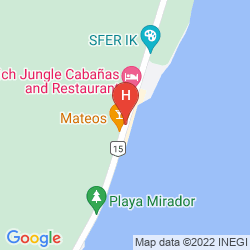 Karte TULUMBAY HOTEL