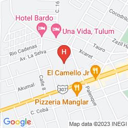 Karte VILLAS H2O