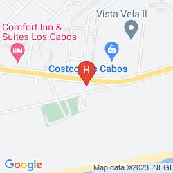 Karte HOLIDAY INN EXPRESS CABO SAN LUCAS