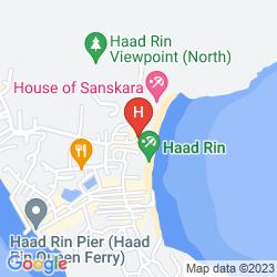 Karte PHANGAN BAYSHORE RESORT