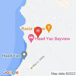 Karte SHIRALEA BACKPACKERS RESORT