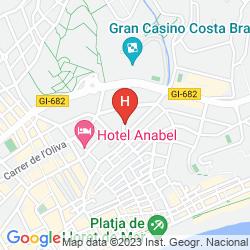 Karte APARTAMENTOS SANTI