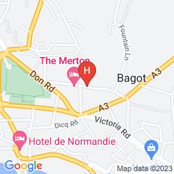 Karte MERTON