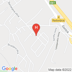 Karte PENZION KOVAC