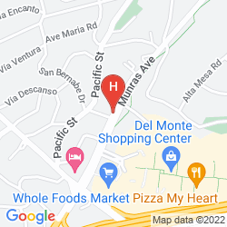 Karte CARMEL HILL DEL MONTE PINES