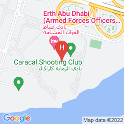 Karte ARMED FORCES OFFICERS CLUB & HOTEL