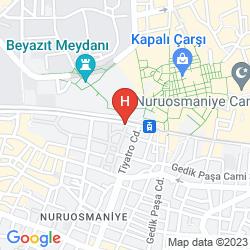 Karte ENDERUN HOTEL BOUTIQUE