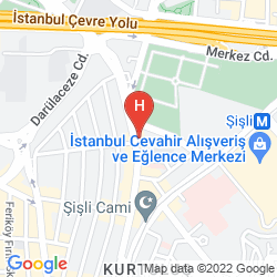 Karte ISTANBUL MARRIOTT HOTEL SISLI