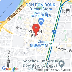 Karte INHOUSE HOTEL