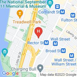 Karte HOLIDAY INN MANHATTAN-FINANCIAL DISTRICT