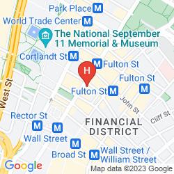Karte RESIDENCE INN NEW YORK MANHATTAN/WORLD TRADE CENTER AREA