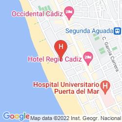 Karte TRYP LA CALETA