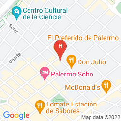 Karte ECO PAMPA HOSTEL