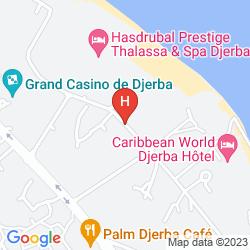 Karte APPART HOTEL RODES