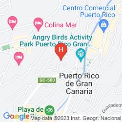 Karte APARTAMENTOS CORONA CEDRAL