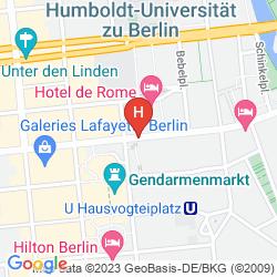 Karte TITANIC GENDARMENMARKT BERLIN