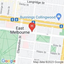 Karte TRIBECA SERVICED APARTMENTS MELBOURNE
