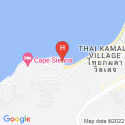 Karte NOVOTEL PHUKET KAMALA BEACH