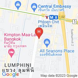 Karte INDIGO BANGKOK WIRELESS ROAD