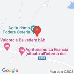 Karte PODERE OSTERIA