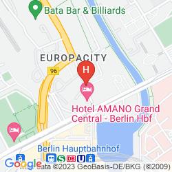 Karte HOTEL AMANO GRAND CENTRAL