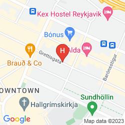 Karte STAY APARTMENTS GRETTISGATA