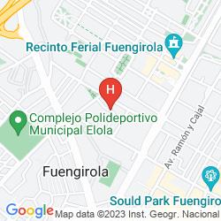 Karte BEATRIZ & SPA HOTEL