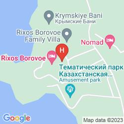 Karte RIXOS BOROVOE