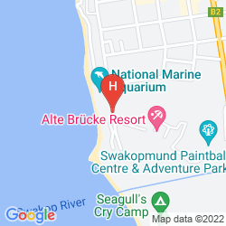 Karte BEACH HOTEL SWAKOPMUND
