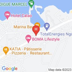 Karte AIRPORT CASINO