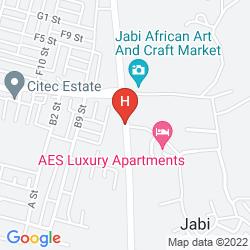 Karte AES LUXURY APARTMENTS