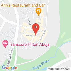 Karte BERKSHIRE HOTEL MAITAMA