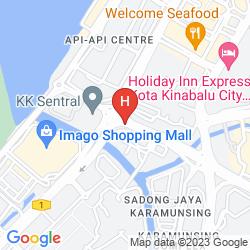 Karte SKY HOTEL KOTA KINABALU