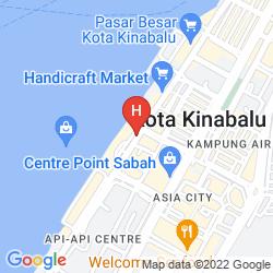 Karte THE KLAGAN HOTEL
