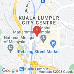 Karte GEO HOTEL KUALA LUMPUR
