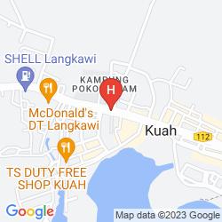Karte HJI RESIDENSI HOTEL LANGKAWI