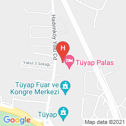 Karte TUYAP PALAS