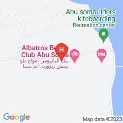 Karte AMWAJ BLUE BEACH RESORT & SPA