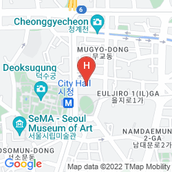 Karte ALOFT SEOUL GANGNAM