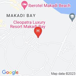 Karte CLEOPATRA LUXURY RESORT MAKADI BAY