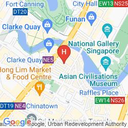 Karte LE HOTEL CARPENTER STREET