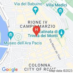 Karte THE SPANISH STEPS DREAM