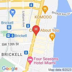 Karte JW MARRIOTT HOTEL MIAMI