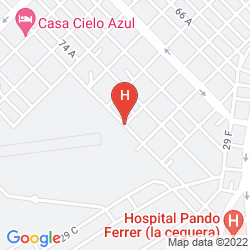 Karte SERCOTEL SAN ALEJANDRO