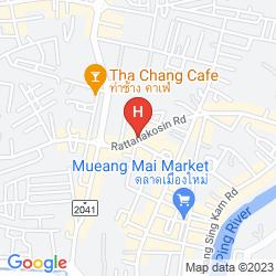 Karte SLEEPBOX CHIANGMAI