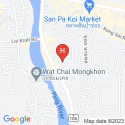 Karte ZZ HOUSE CHIANG MAI