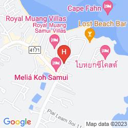 Karte AMALOUCE RESORT KOH SAMUI