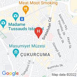 Karte LIVA SUITE HOTEL